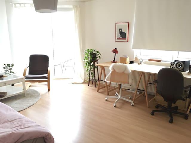 Zentral, modern, ruhige Lage, RÜ - Essen - Apartment