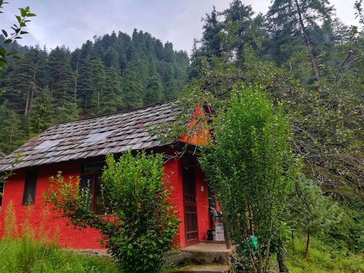 Unique wood Cabin|Riverside|Sep 1|Sanitized|Offers