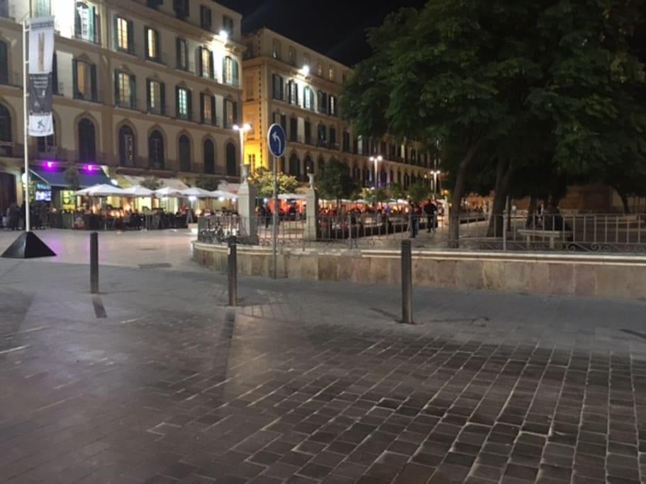 A escasos metros de la Plaza de Merced