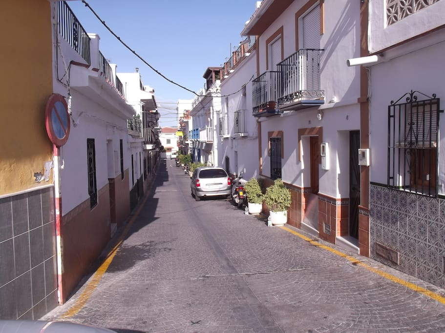 Traditional Spanish street