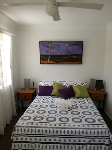 Close to theme park 1 bedroom retreat - Upper Coomera - Apartamento