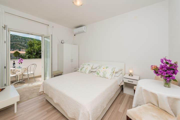 Guest House Riverside - Studio Apartment with Balcony