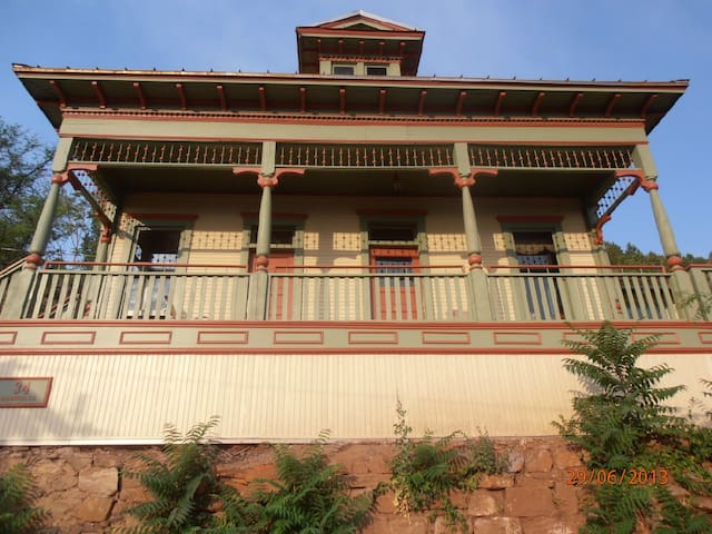 John Riordan House 119 years old vacant for 60 yrs - 杰羅姆(Jerome)
