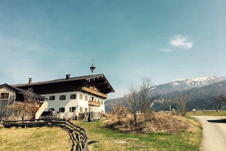 Idyllischer Bauernhof - Bichlach - 独立屋