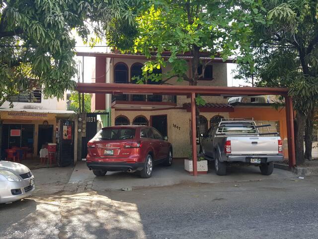 Cómoda habitación en el centro de Tuxtla Gutiérrez