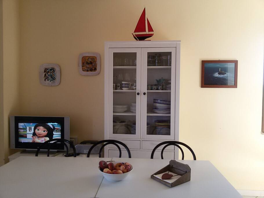 L'ampio soggiorno