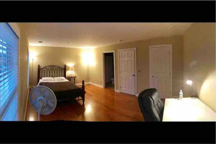 Large Furnished Room on Secluded 4th Level