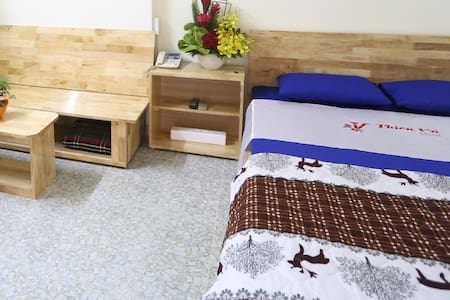 Well-furnished roof-top room @Thien Vu Hotel #401