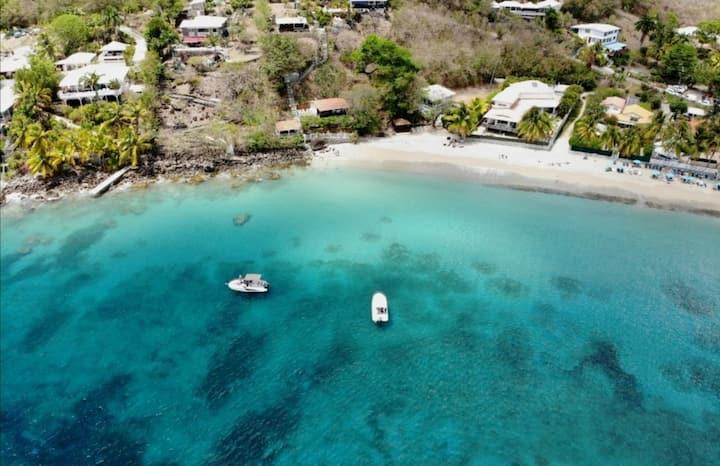 Perle rare T3 pieds dans l'eau Anses d'Arlet