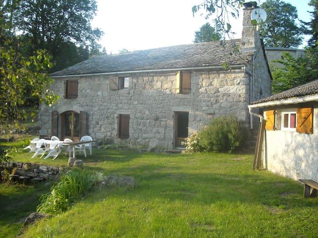 La Ferme du Vieux - Mazet-Saint-Voy - Talo
