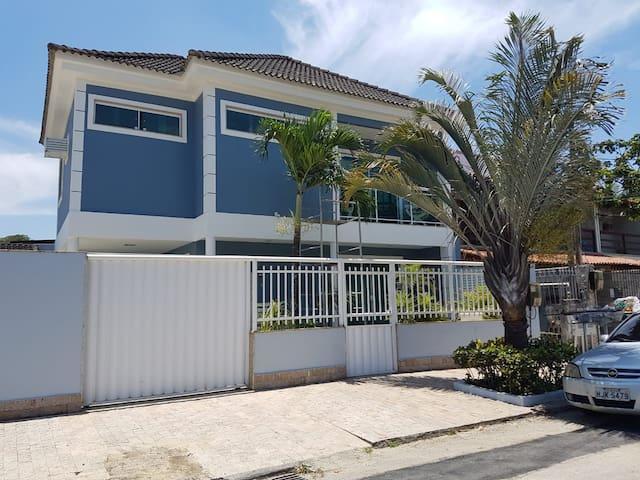 A Casa Azul de Sulacap.