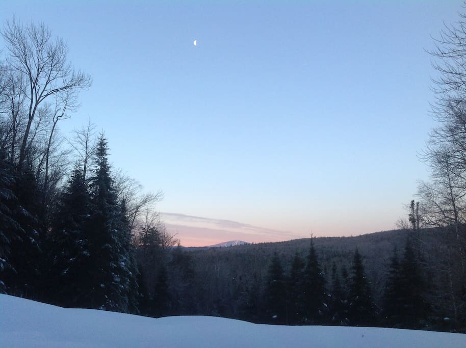 Evening view of Stratton.