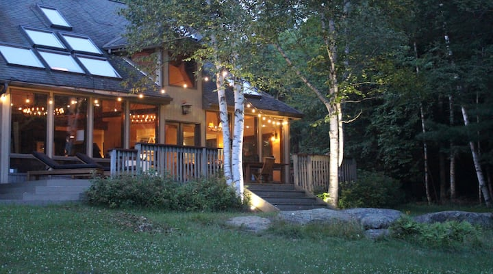 Catskills secluded lodge on 20k acre wilderness