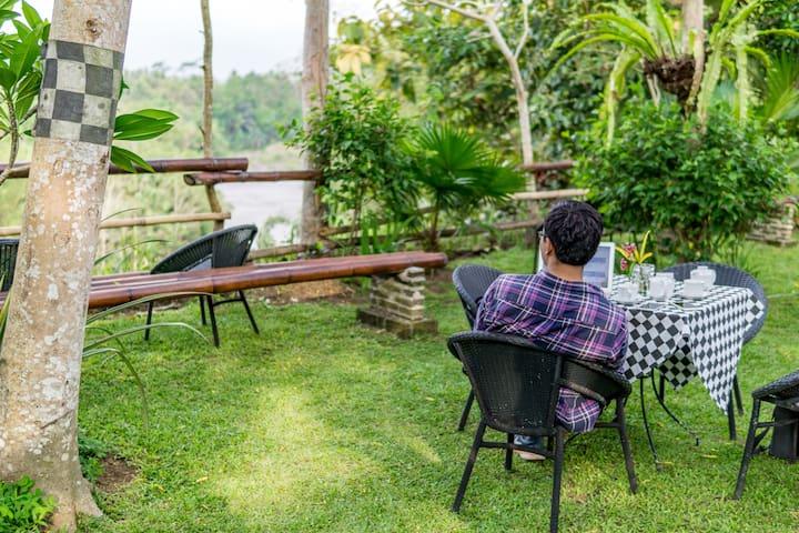 Riverside Tranquility in Borobudur Culture Village