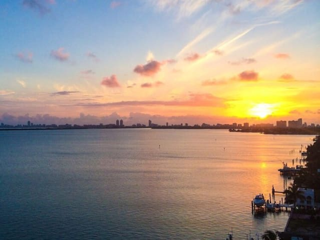 Incredible views - Venetian Islands - Miami Beach - Apartamento