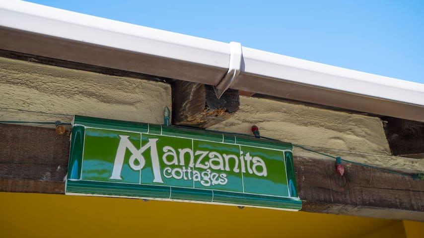 Manzanita Cottages Front Gate #3