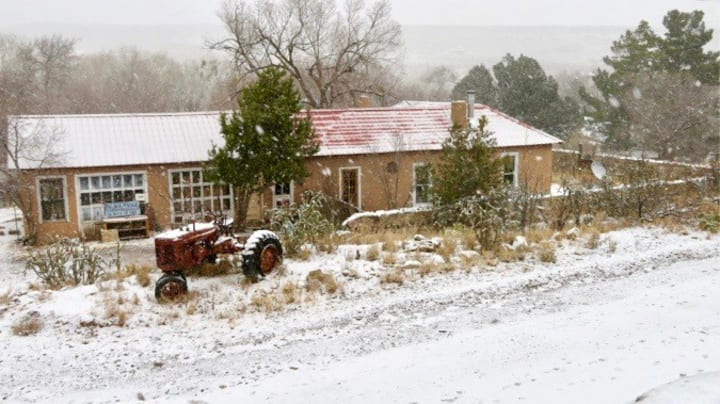 Old Adobe Guest House ~ Hillsboro, NM