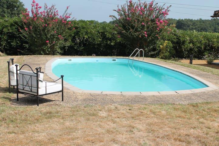 Magnifique villa  Barbotan de Thermes - Lagrange - Huis