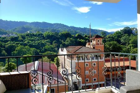 PH Loft Cabecera vista cerros  (AA)-home-office
