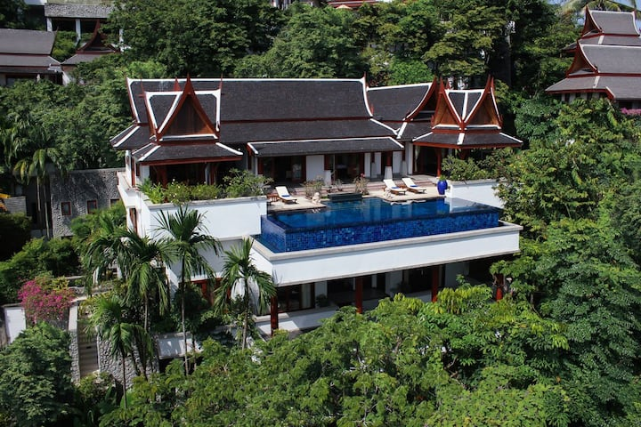 Luxury Thai villa in Surin beach