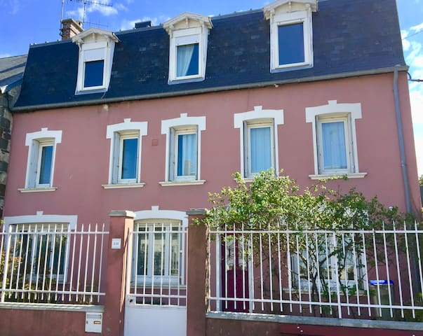 Pink House - So charming - Donville-les-Bains - Hus