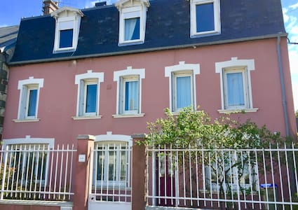 Pink House - So charming - Donville-les-Bains - Huis