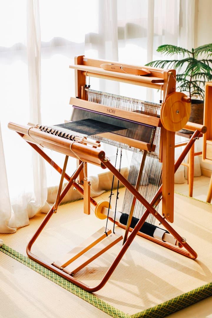 日本进口手织机