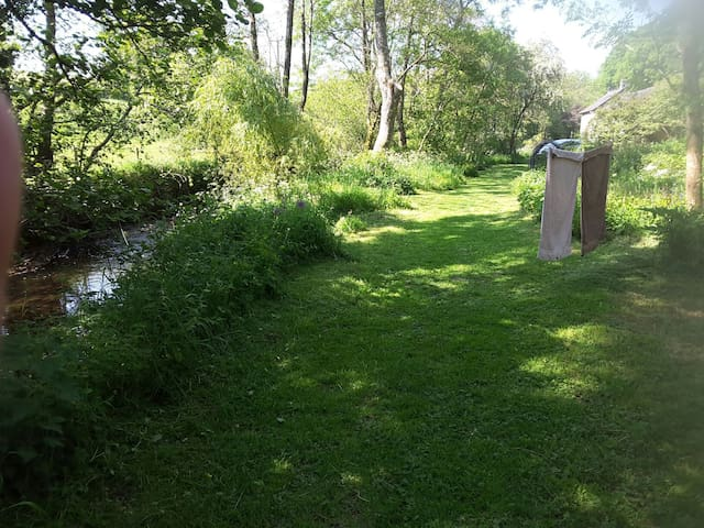 The track between the meadow and the Mill.