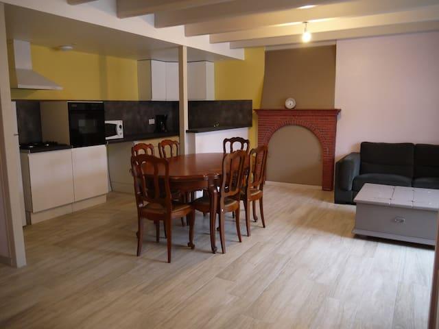 Maison rénovée proche Dinan - La Landec - Casa