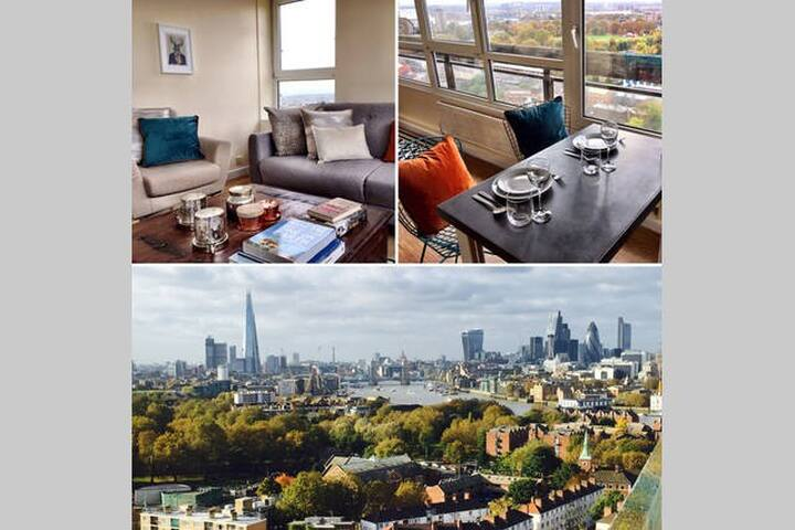 Amazing view over London! Central 2bedroom flat!