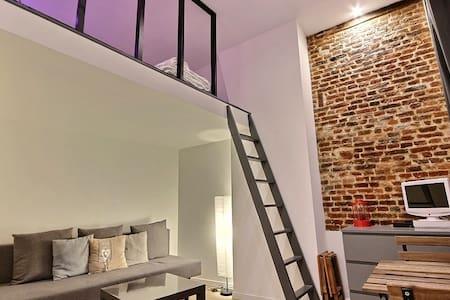 Appartement hypercentre (gd place, gare, vx Lille) - Lille - Wohnung