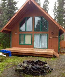 Kenai Riverfront cabin on the river - Sterling
