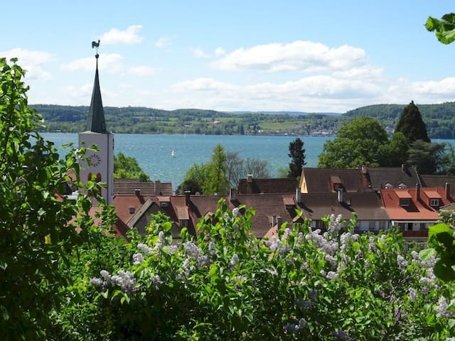 """Cosy Holiday Apartment """"Ferienwohnung Munding"""" with Garden, Terrace, Lake View, Grill & SAT-TV; Parking Available"""
