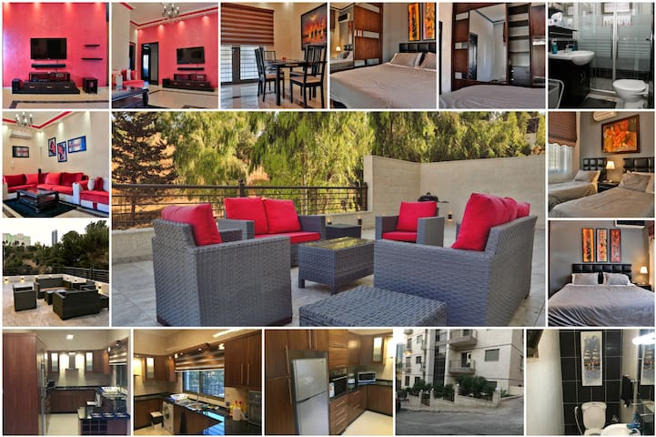Modern apt, hillview terrace behind prime ministry - Amman - Apartment