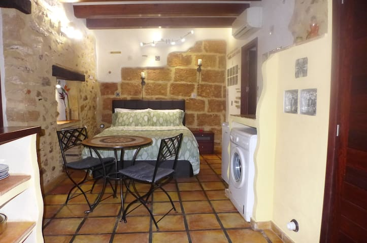 Studio Apart. with A/C in the Medieval Village