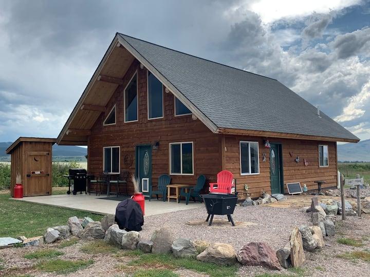Beautiful new home in Western Montana