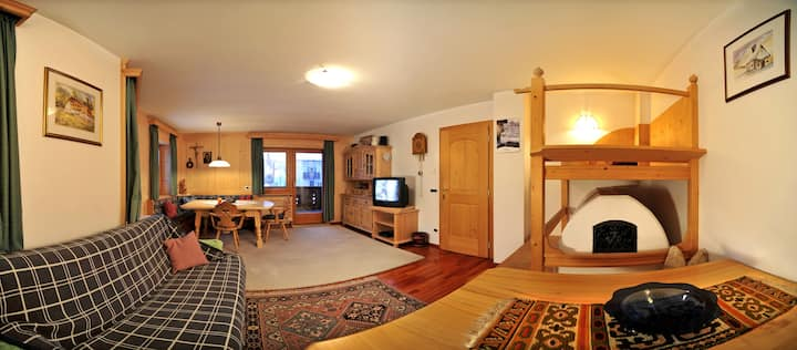 Penthouse Limbela in St. Ulrich, 180qm