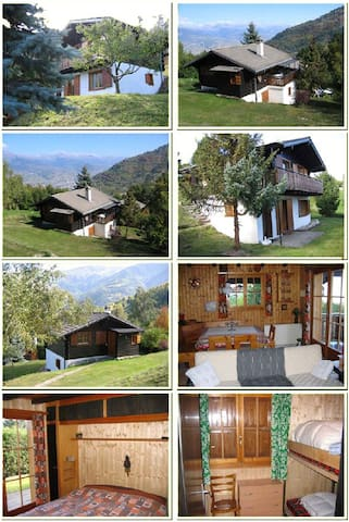 Bass-Nendaz, Swiss Alps, Chalet for 6 persons - Nendaz