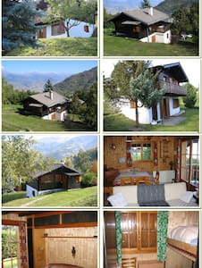 Bass-Nendaz, Swiss Alps, Chalet for 6 persons - Nendaz - Chalupa