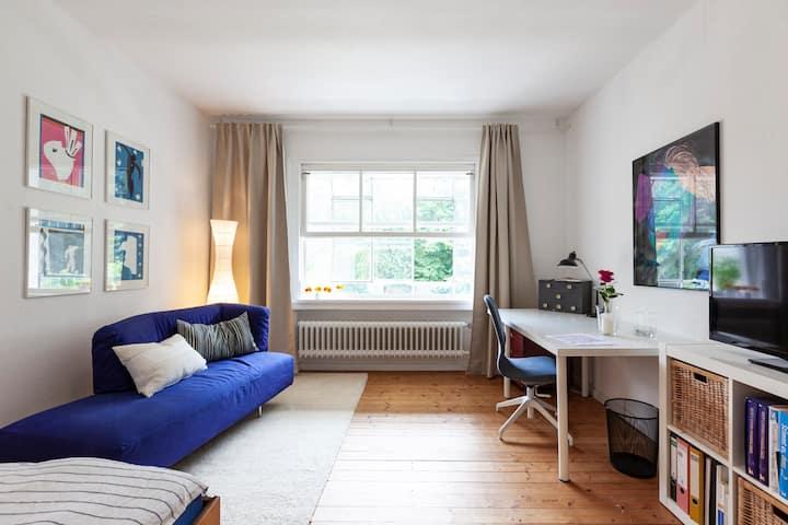 Wohnung mit Balkon mitten in Aachen