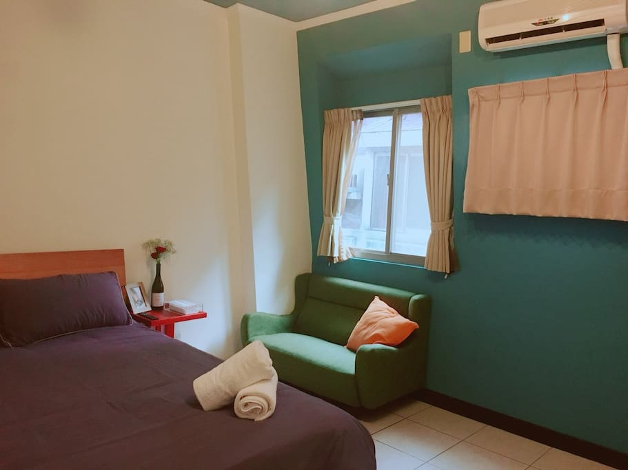 5F Double room/五樓溫馨雙人房