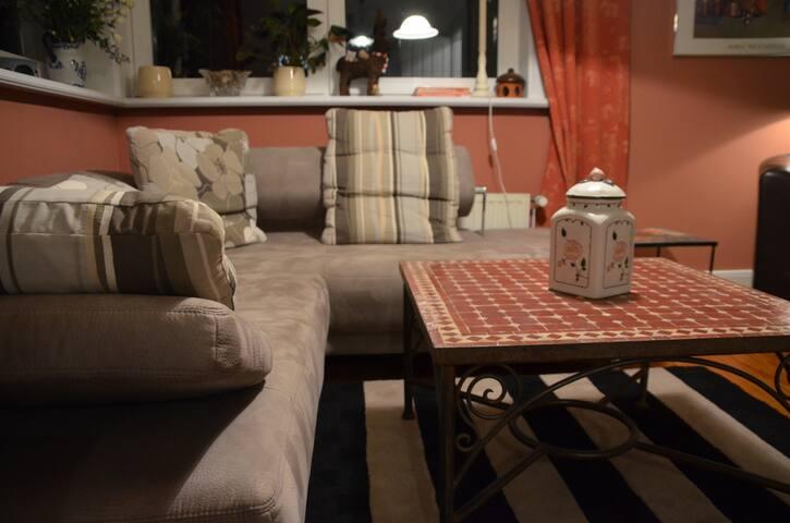Wohnzimmer Fewo Ole