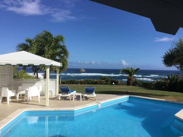 Villa Luciole Vue mer Guadeloupe