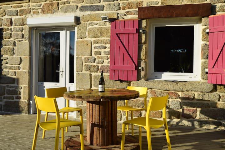 Bretonne Cocooning Lumineuse au Calme - Plomeur - House