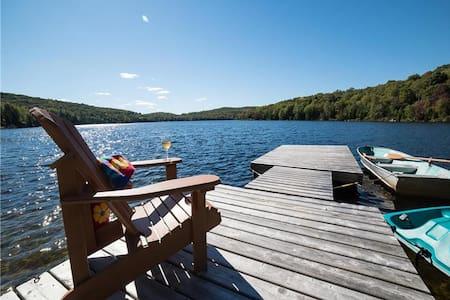 Chalet vue panoramique sur le lac