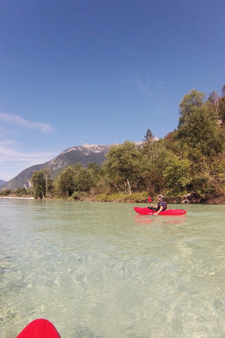 Plenty of opportunities to enjoy Soča