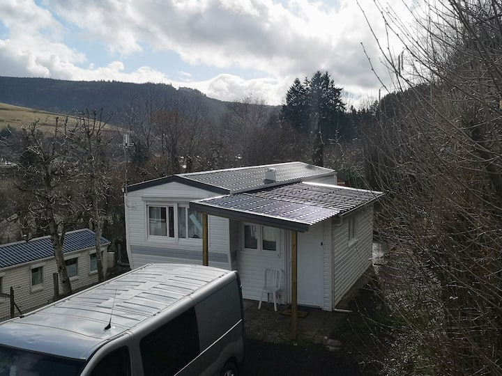 Mobilhome 5 pers, camping familial massif du Sancy