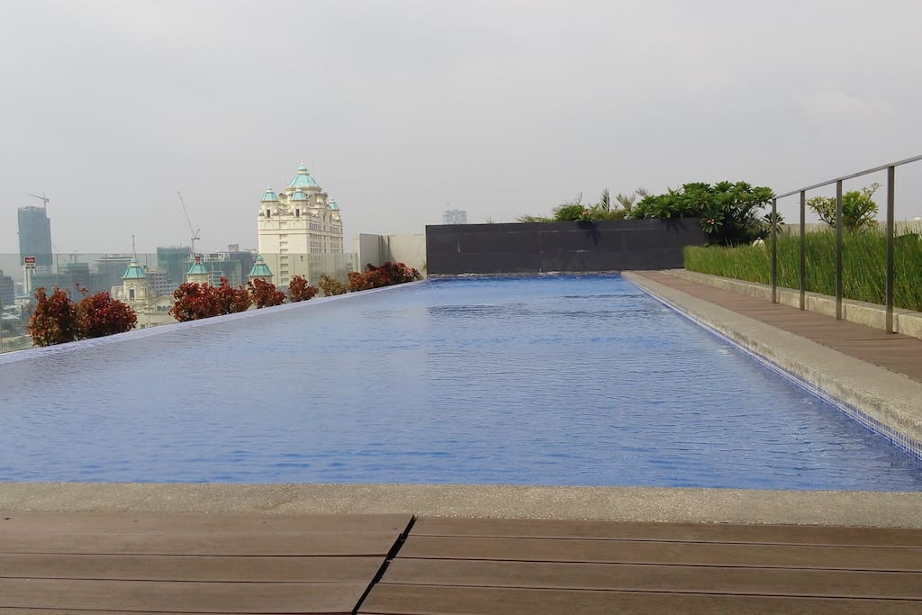 Swim at the exclusive pool at the 10th floor