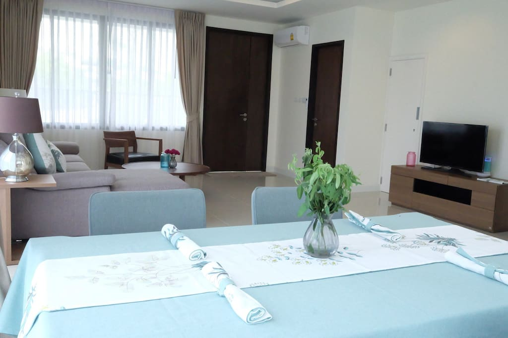 Dining + Living Room
