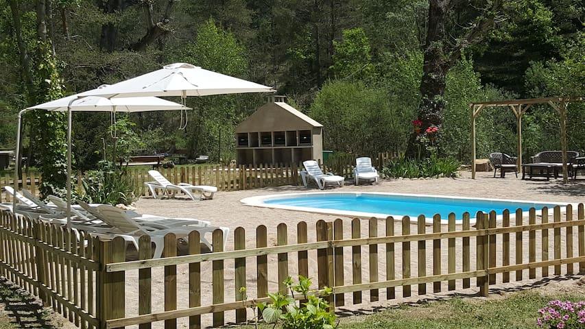 Acogedor apartamento con piscina en pleno Pirineo - Sant Llorenç de Morunys - Apartmen
